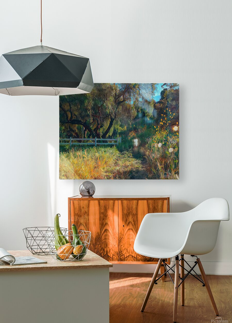 Rolling hills 2  HD Metal print with Floating Frame on Back