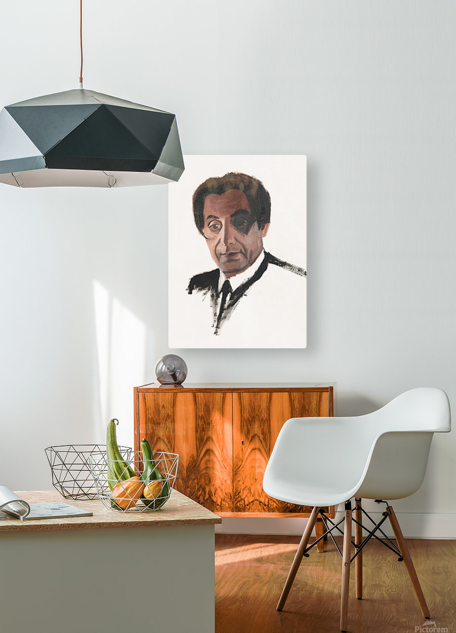 Al Pacino  HD Metal print with Floating Frame on Back
