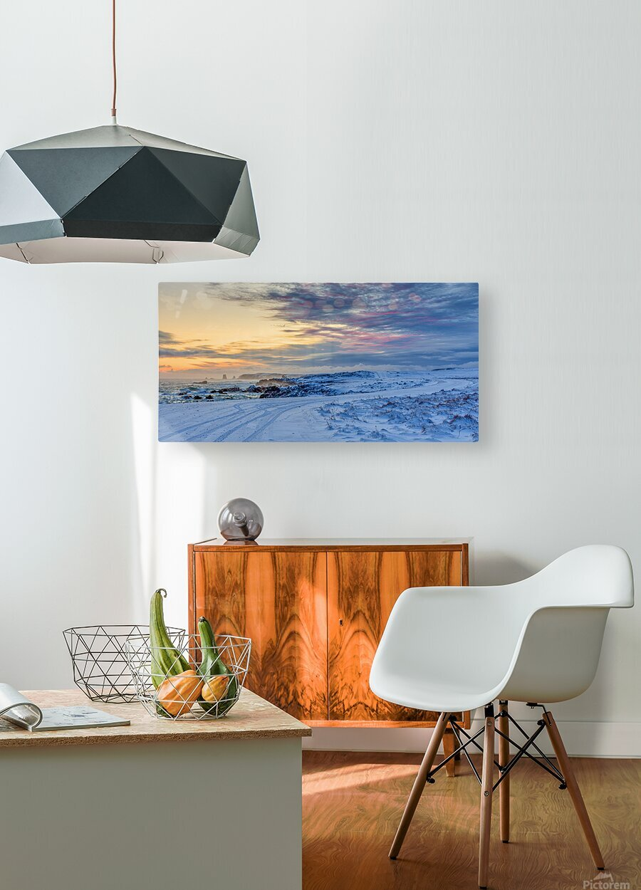 The Colour of Winter  HD Metal print with Floating Frame on Back