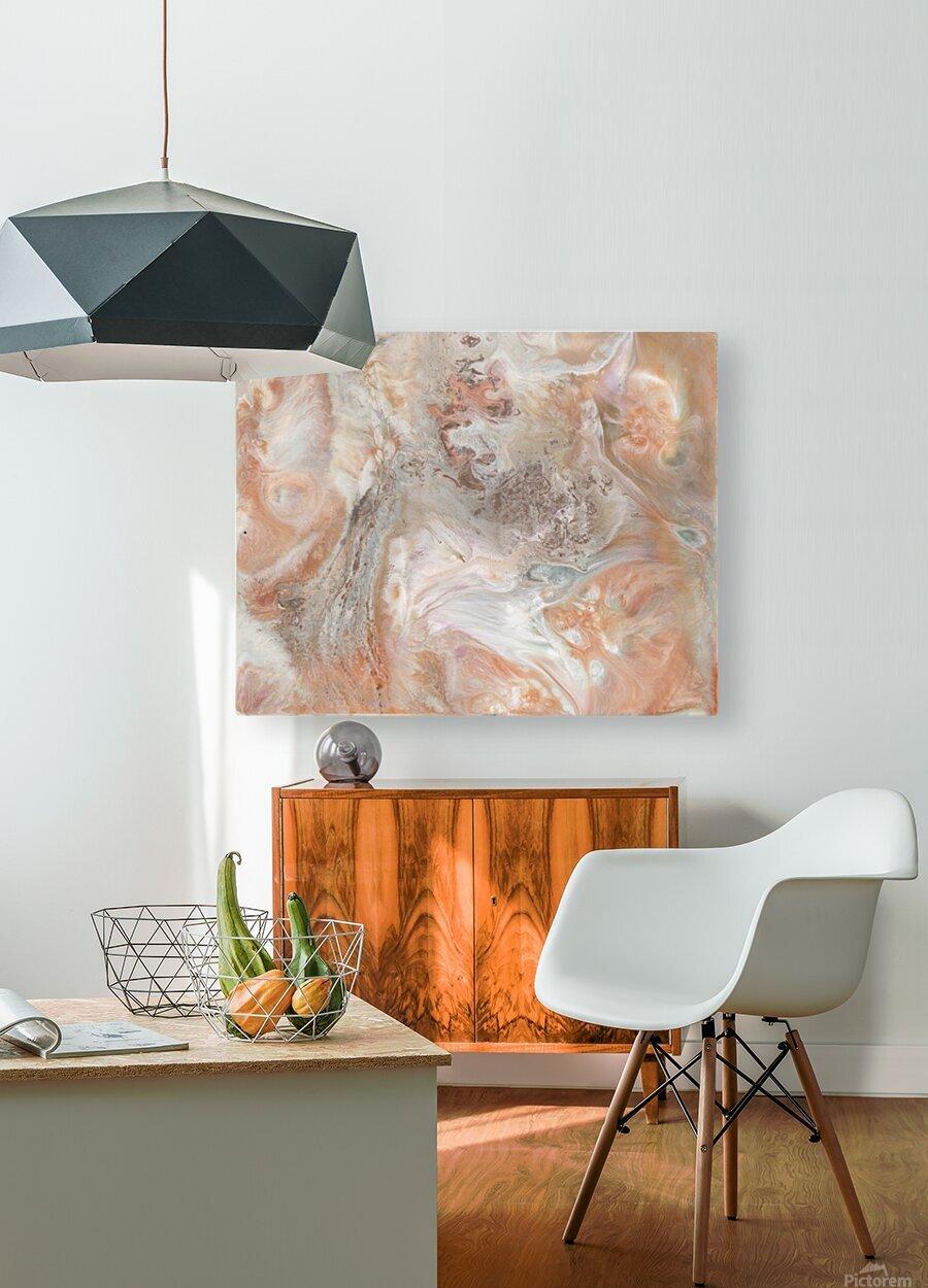 Jupiter  HD Metal print with Floating Frame on Back