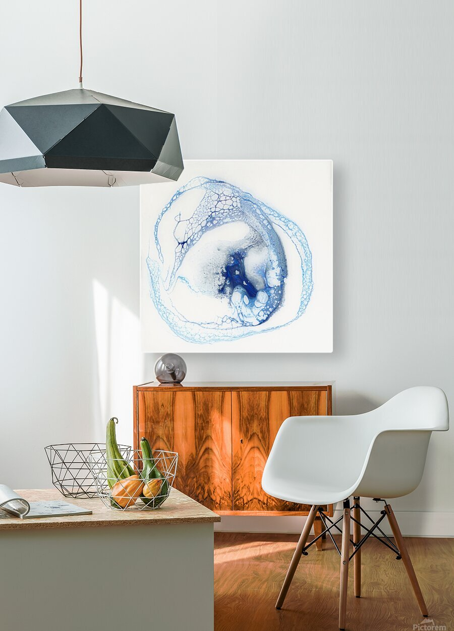 Pelagic  HD Metal print with Floating Frame on Back