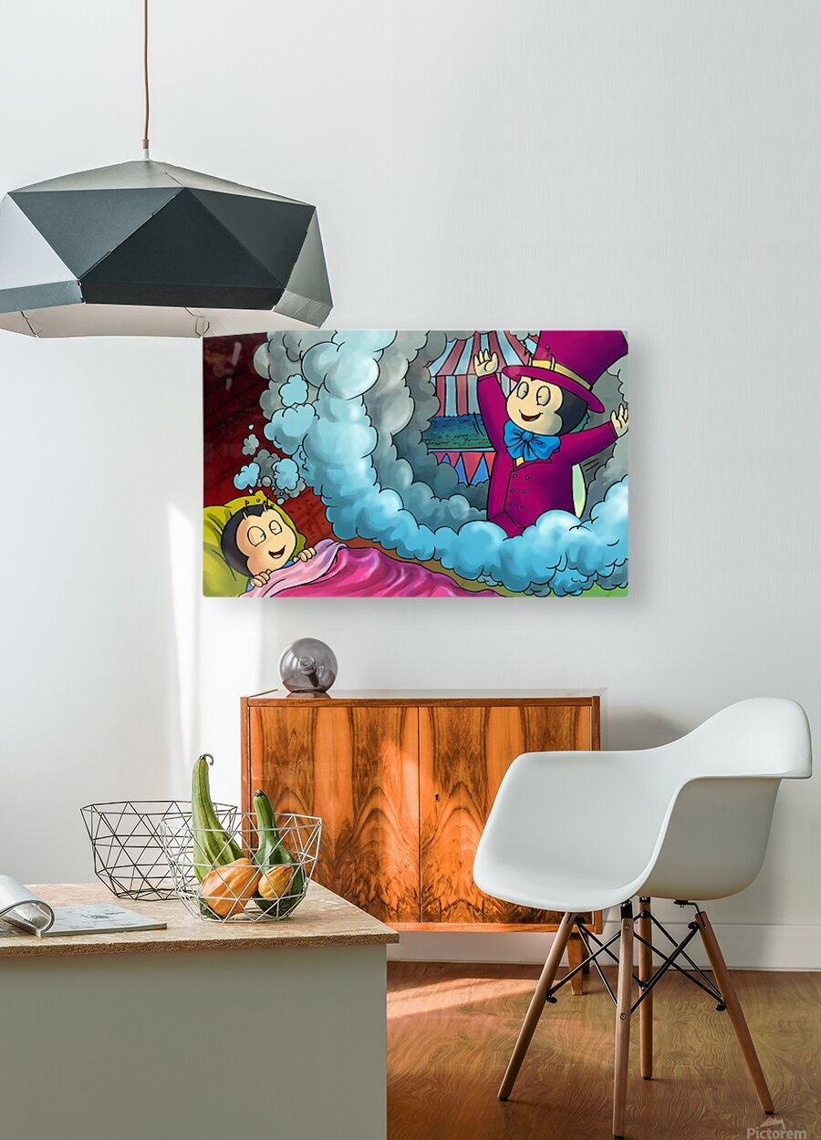 Circus Dreams  HD Metal print with Floating Frame on Back