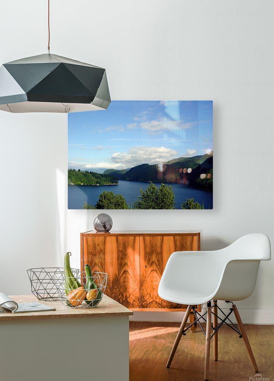 Pacific Northwest Splendor  HD Metal print with Floating Frame on Back