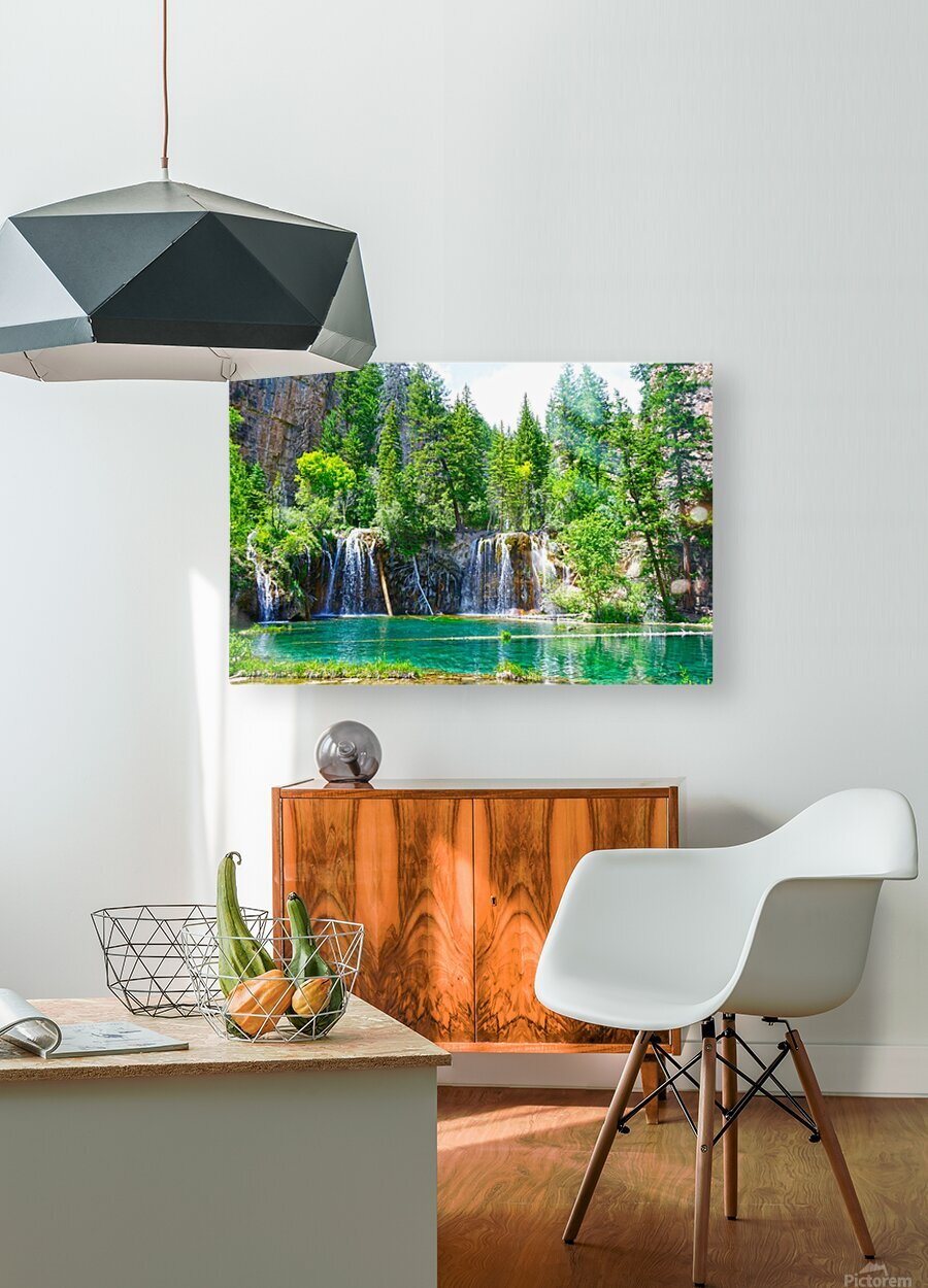 Wild Colorado  HD Metal print with Floating Frame on Back