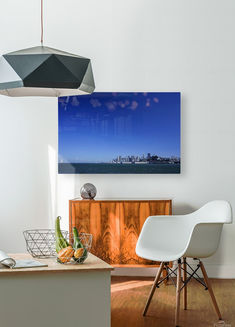 The Bay @ San Francisco  HD Metal print with Floating Frame on Back