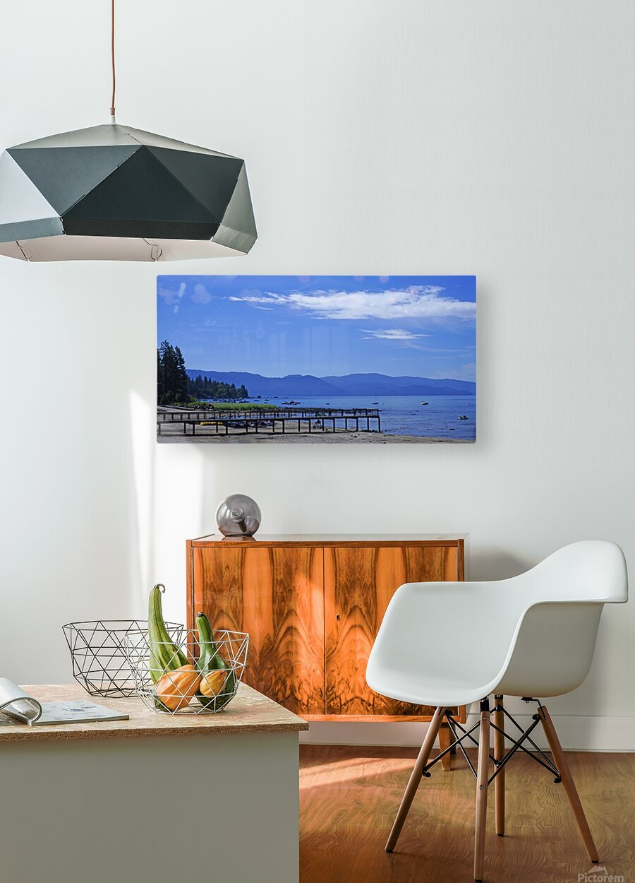 Spring at Lake Tahoe 1 of 7  HD Metal print with Floating Frame on Back