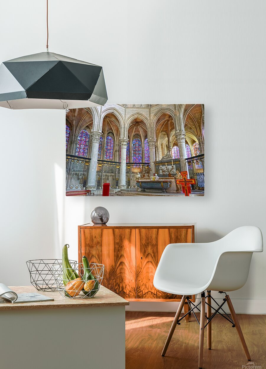Immortal Cathedrale Saint Etienne 5 of 6  HD Metal print with Floating Frame on Back
