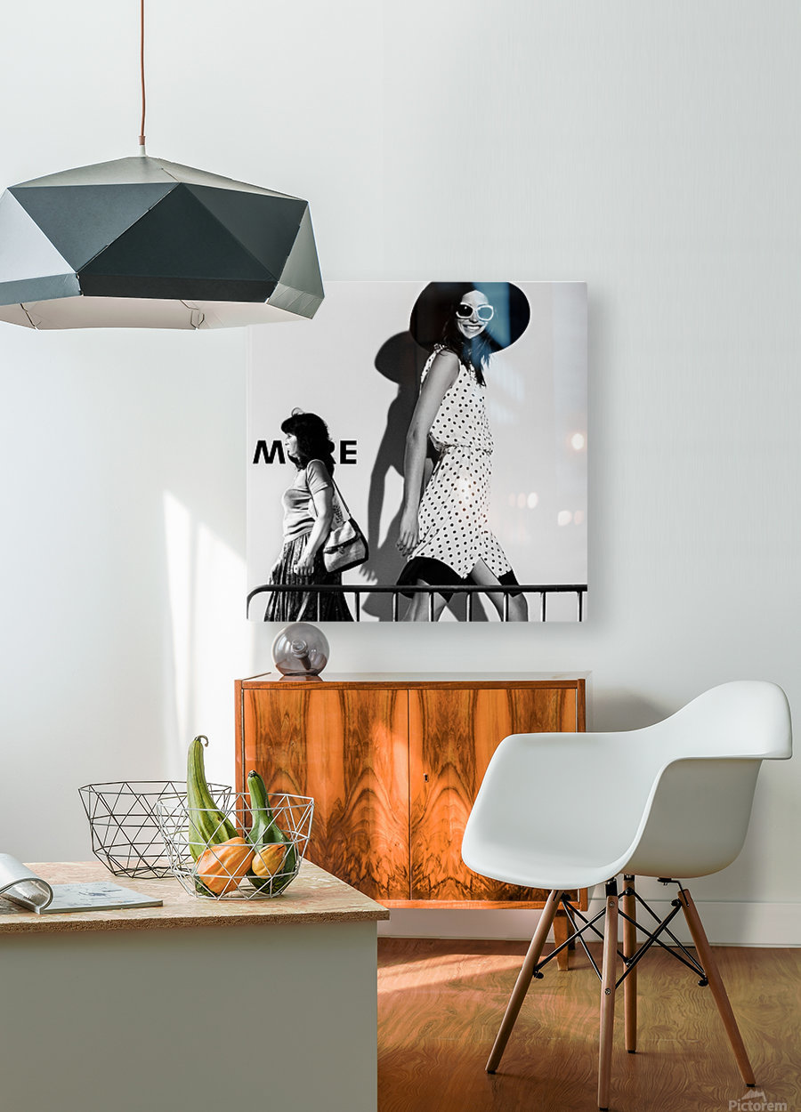ME and My Expectations by Bobby Kostadinov   HD Metal print with Floating Frame on Back