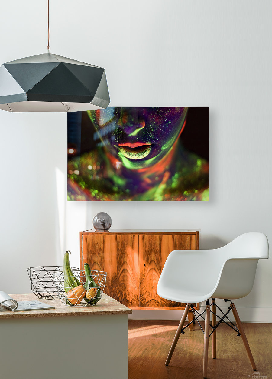 Alice's World  HD Metal print with Floating Frame on Back