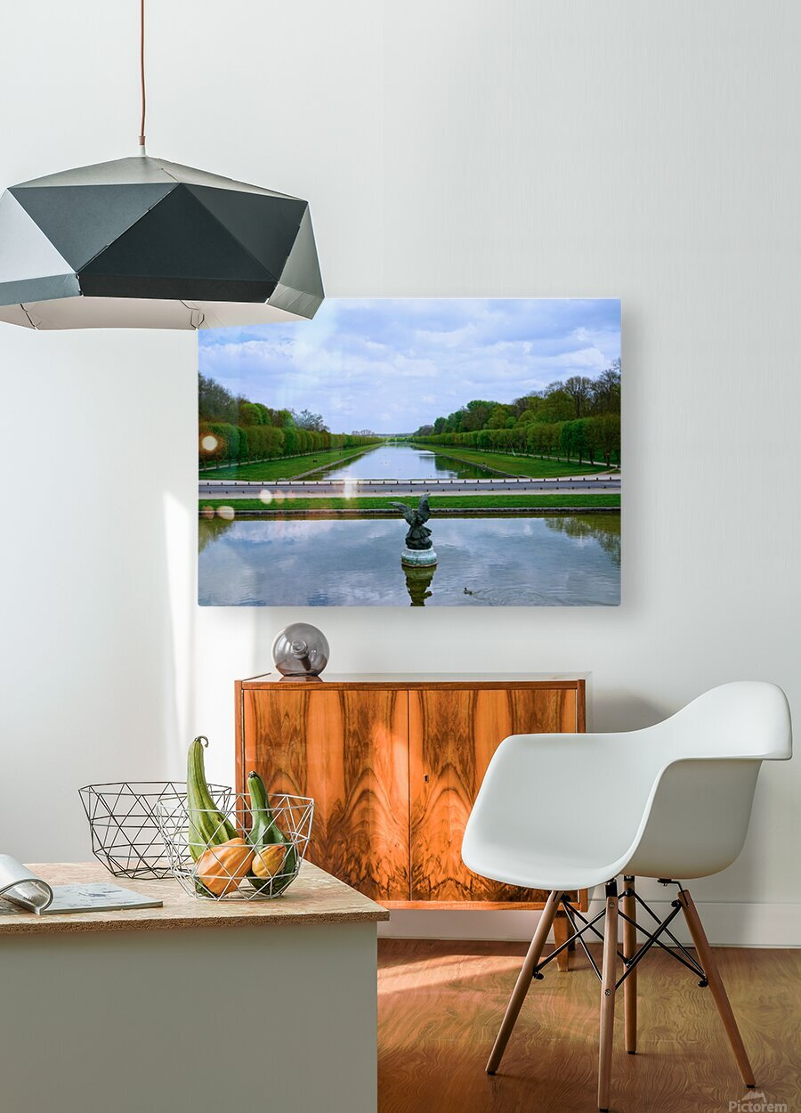 Chateaus of France 6  HD Metal print with Floating Frame on Back