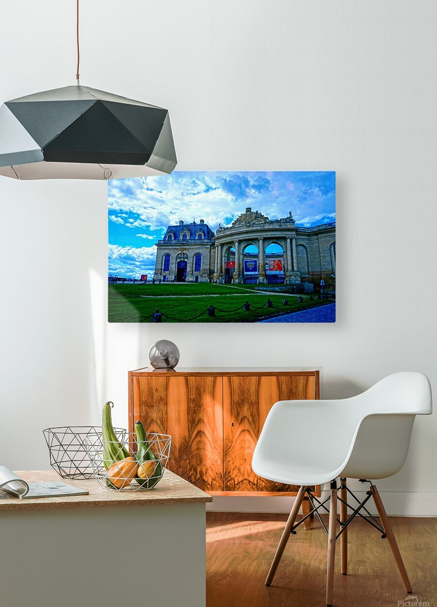 Chateaus of France 8  HD Metal print with Floating Frame on Back