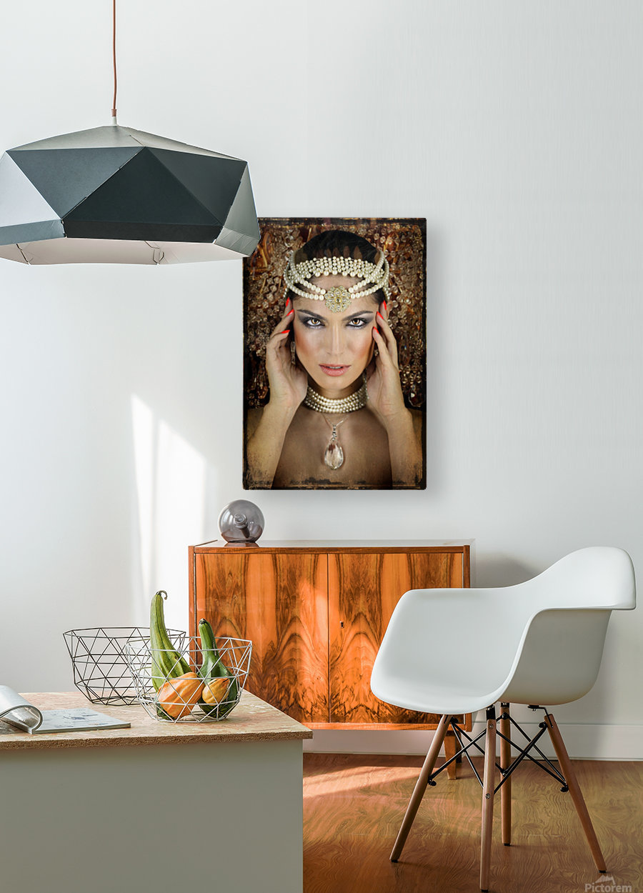 Quelia by DDiArte    HD Metal print with Floating Frame on Back
