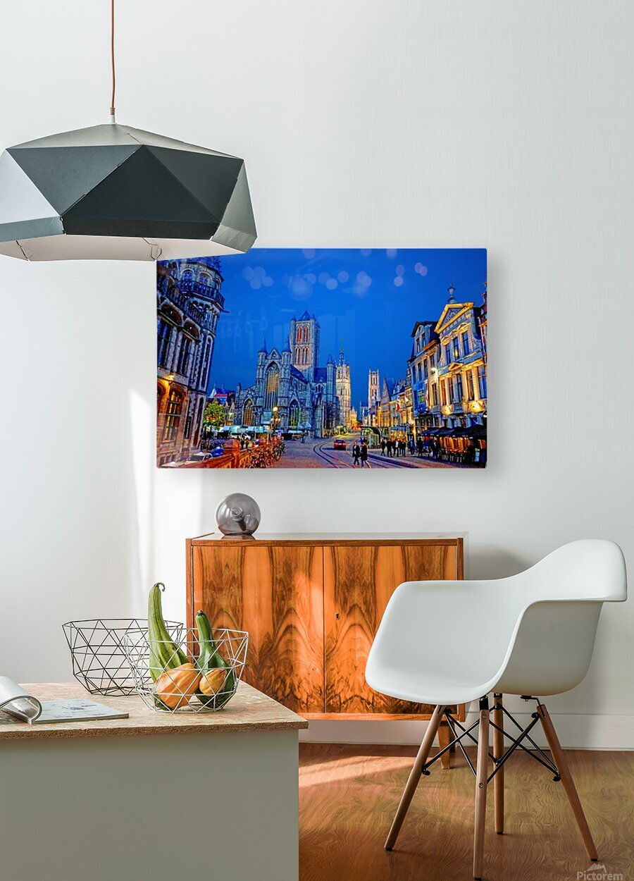 Beautiful Belgium 1 of 7  HD Metal print with Floating Frame on Back