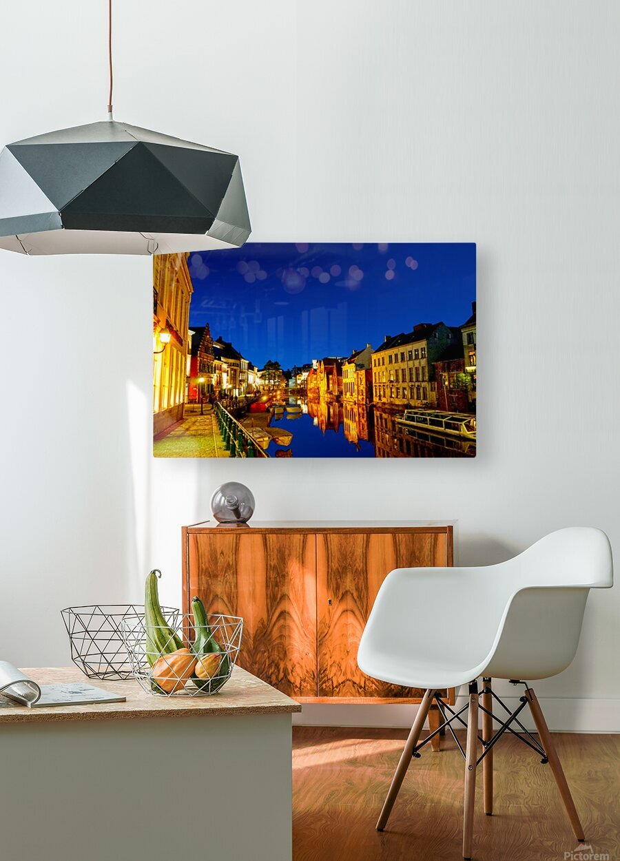 Beautiful Belgium 7 of 7  HD Metal print with Floating Frame on Back