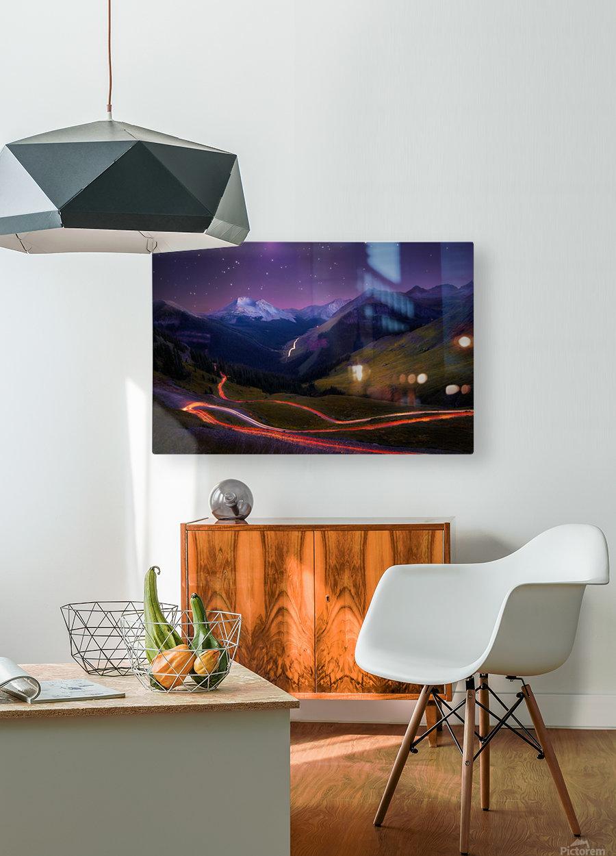 Ascendancy  HD Metal print with Floating Frame on Back