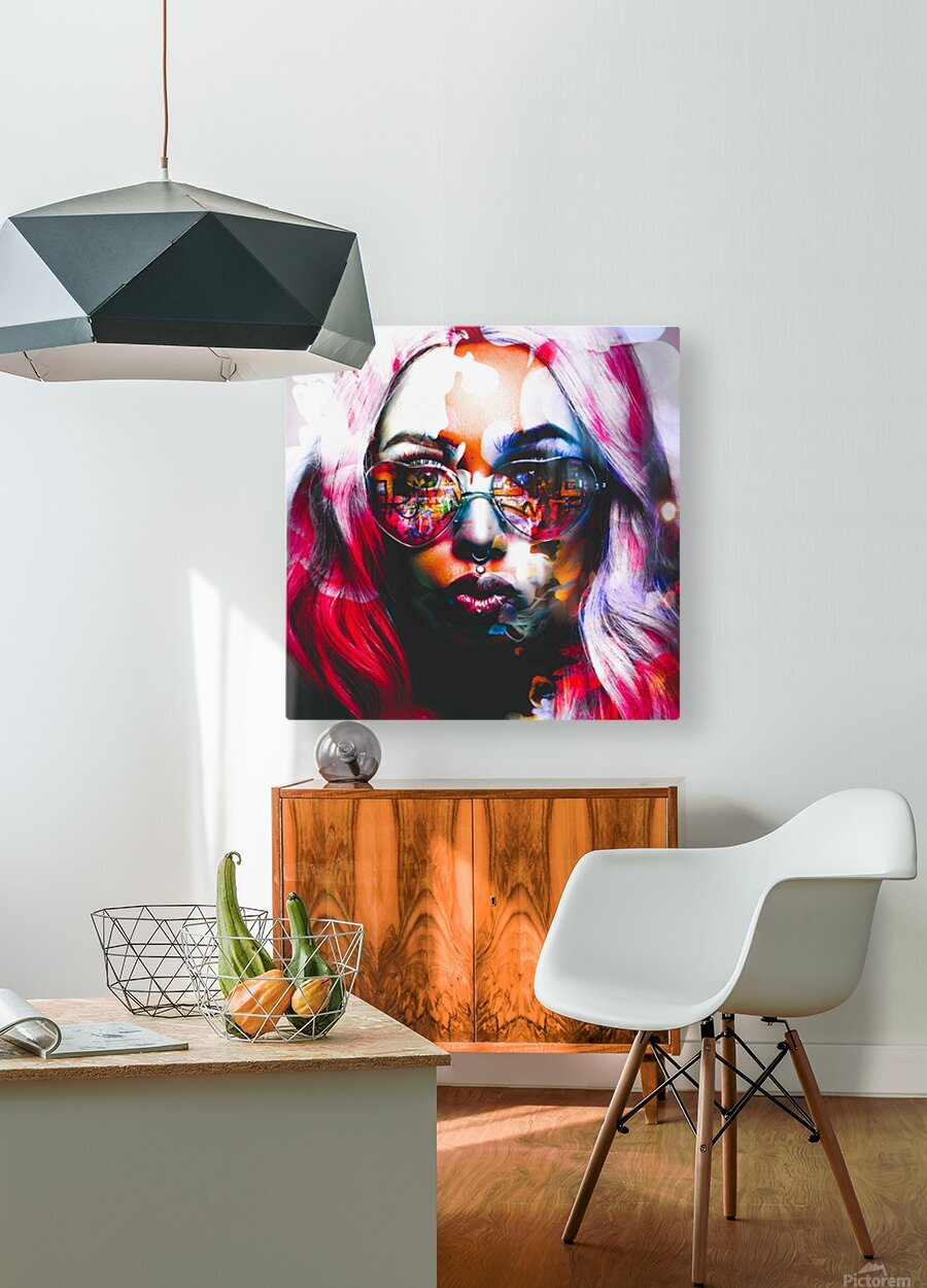 PICAZO   HD Metal print with Floating Frame on Back