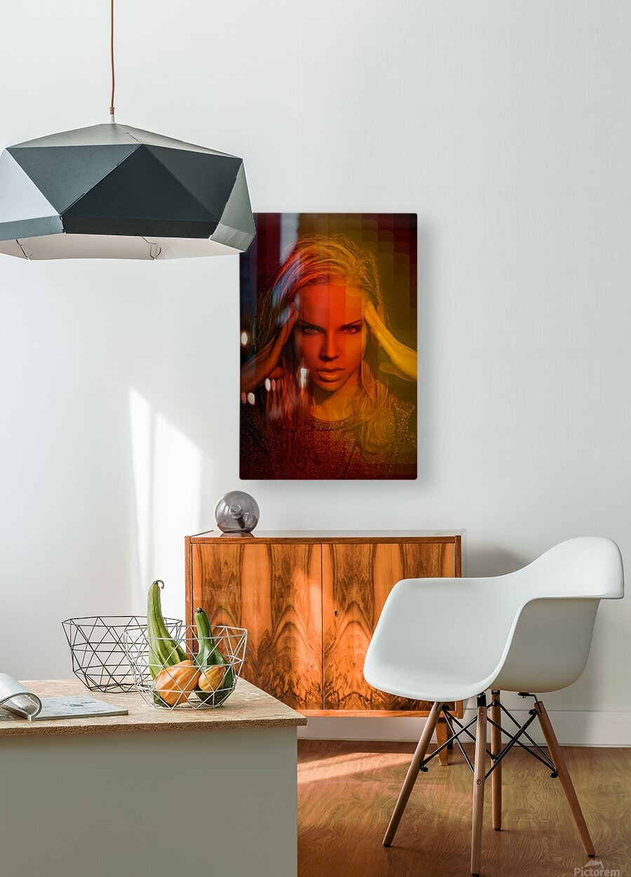 Do You Wanna Funk  HD Metal print with Floating Frame on Back