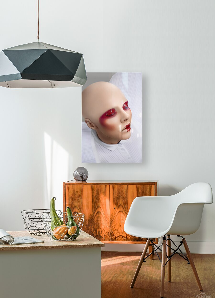 InnerSpace II  HD Metal print with Floating Frame on Back