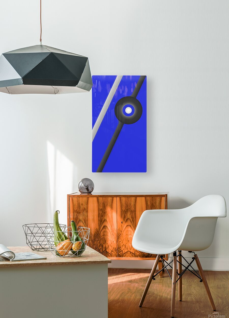 Unknown Planet   HD Metal print with Floating Frame on Back