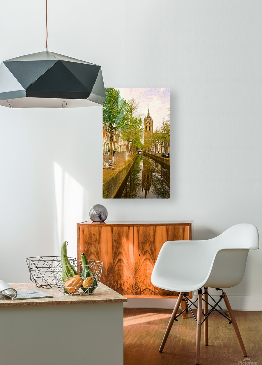A Dream of the Netherlands 1 of 4  HD Metal print with Floating Frame on Back
