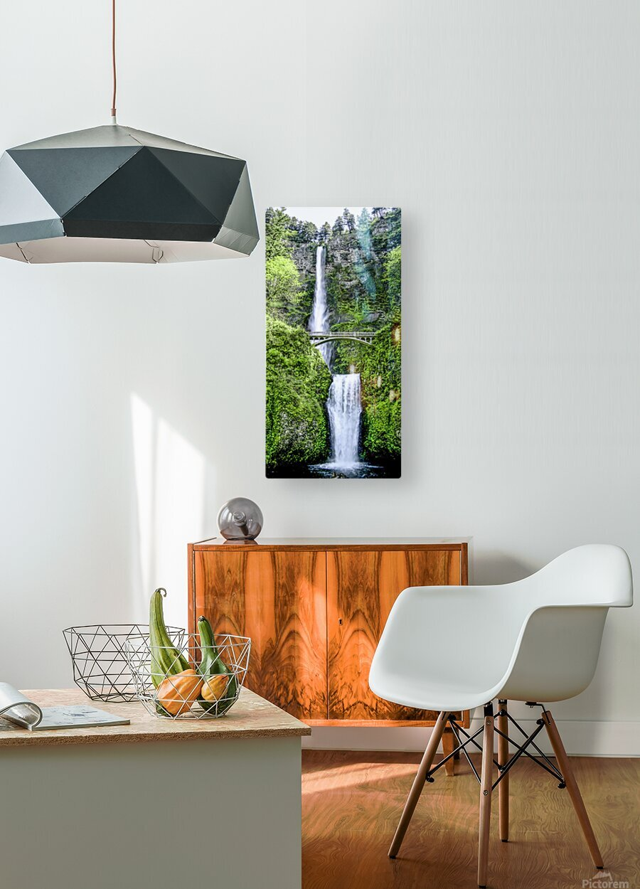 I Dreamed of Waterfalls  HD Metal print with Floating Frame on Back