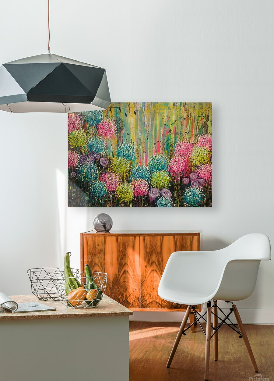 Flower Candy   HD Metal print with Floating Frame on Back