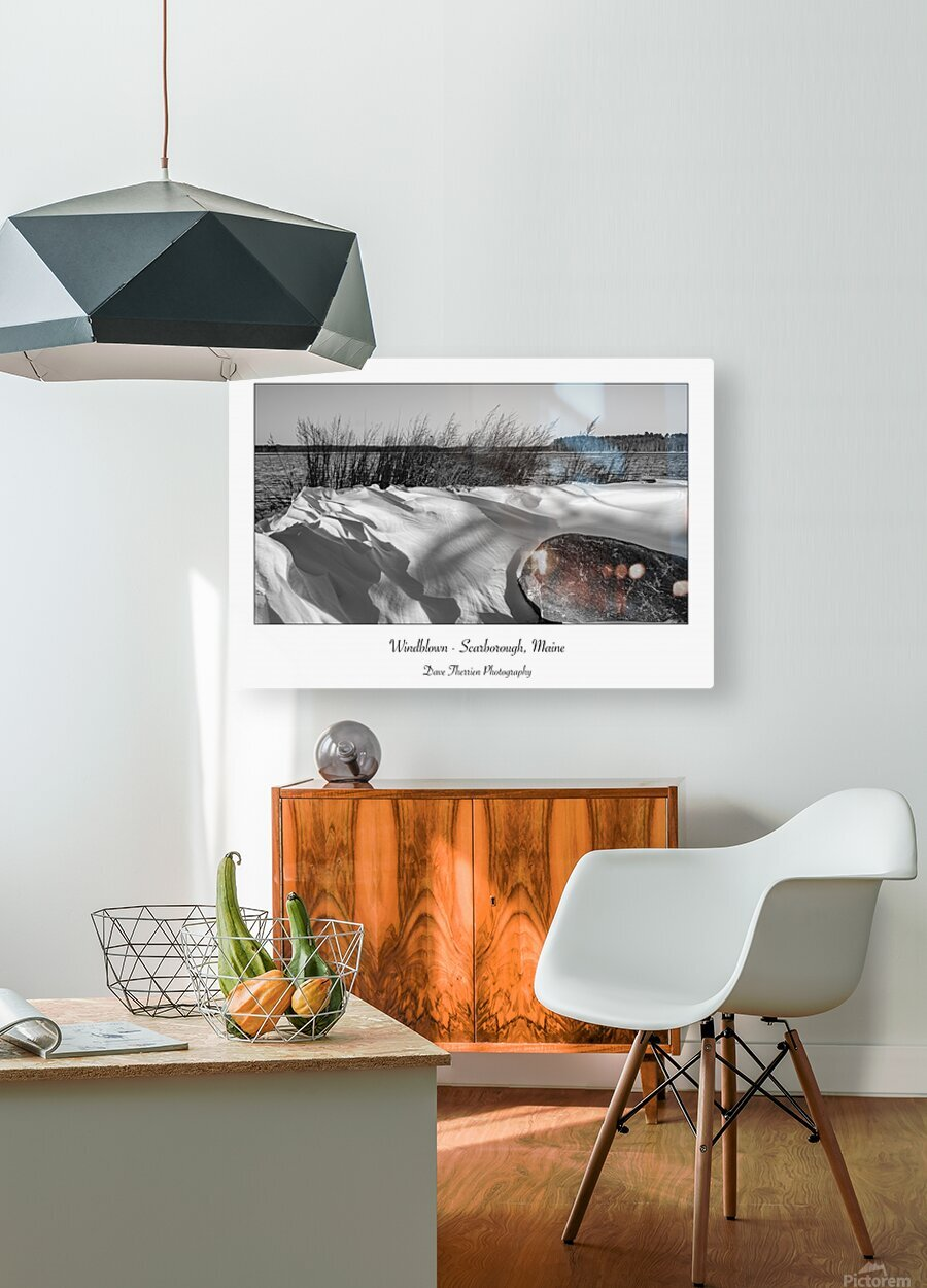 Windblown  HD Metal print with Floating Frame on Back