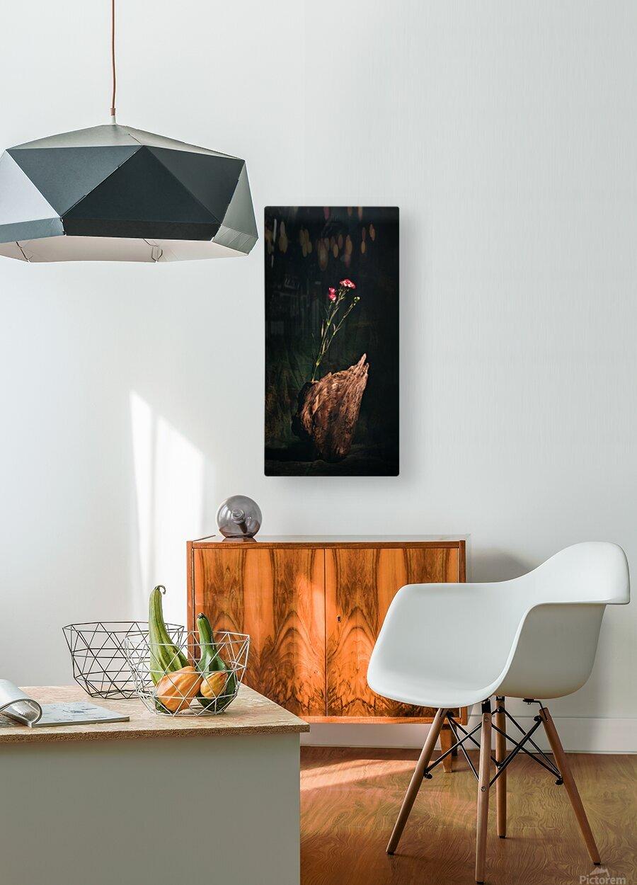 Inspiration Zen  HD Metal print with Floating Frame on Back