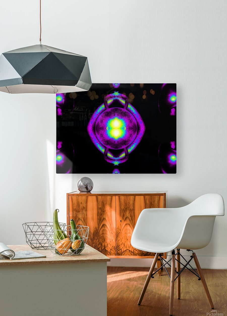 Portal  43   HD Metal print with Floating Frame on Back