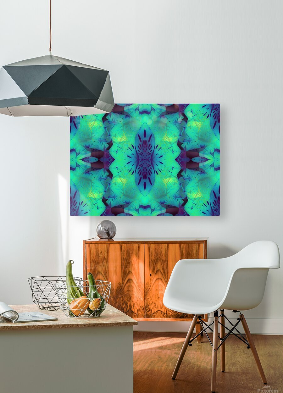 Portal  135   HD Metal print with Floating Frame on Back