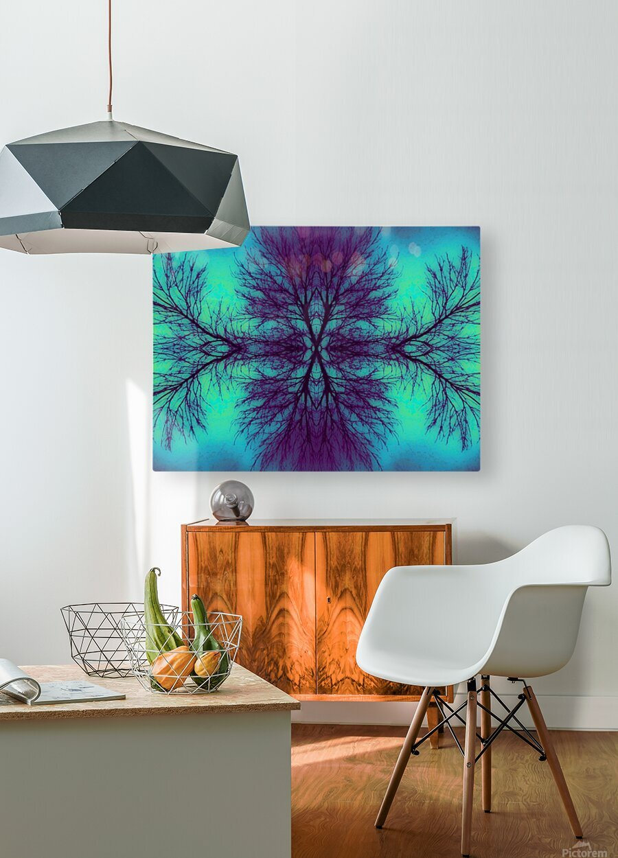 Portal  4   HD Metal print with Floating Frame on Back