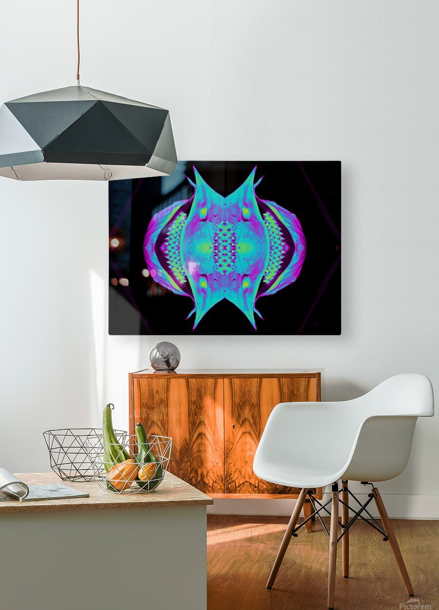 Portal  76   HD Metal print with Floating Frame on Back