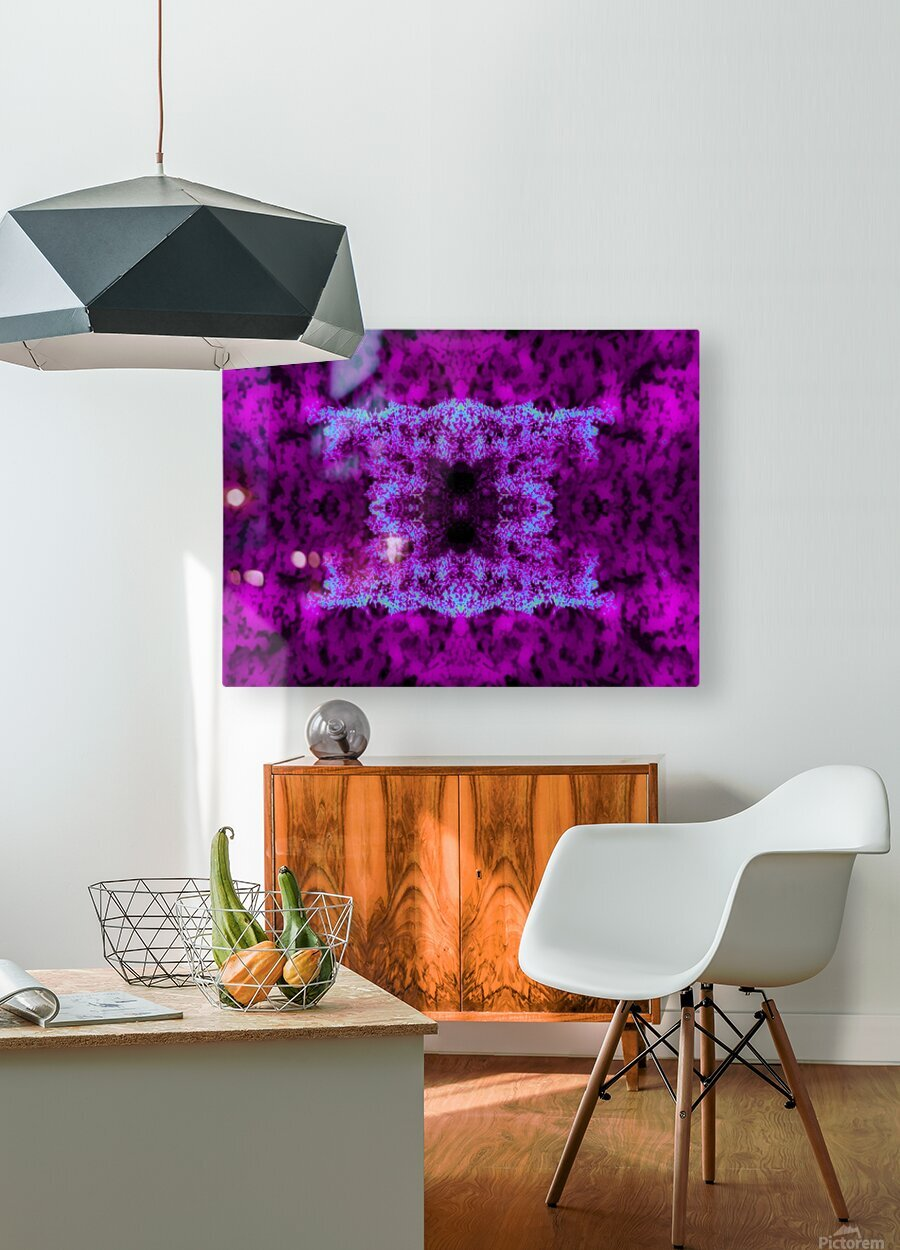 Portal  90   HD Metal print with Floating Frame on Back