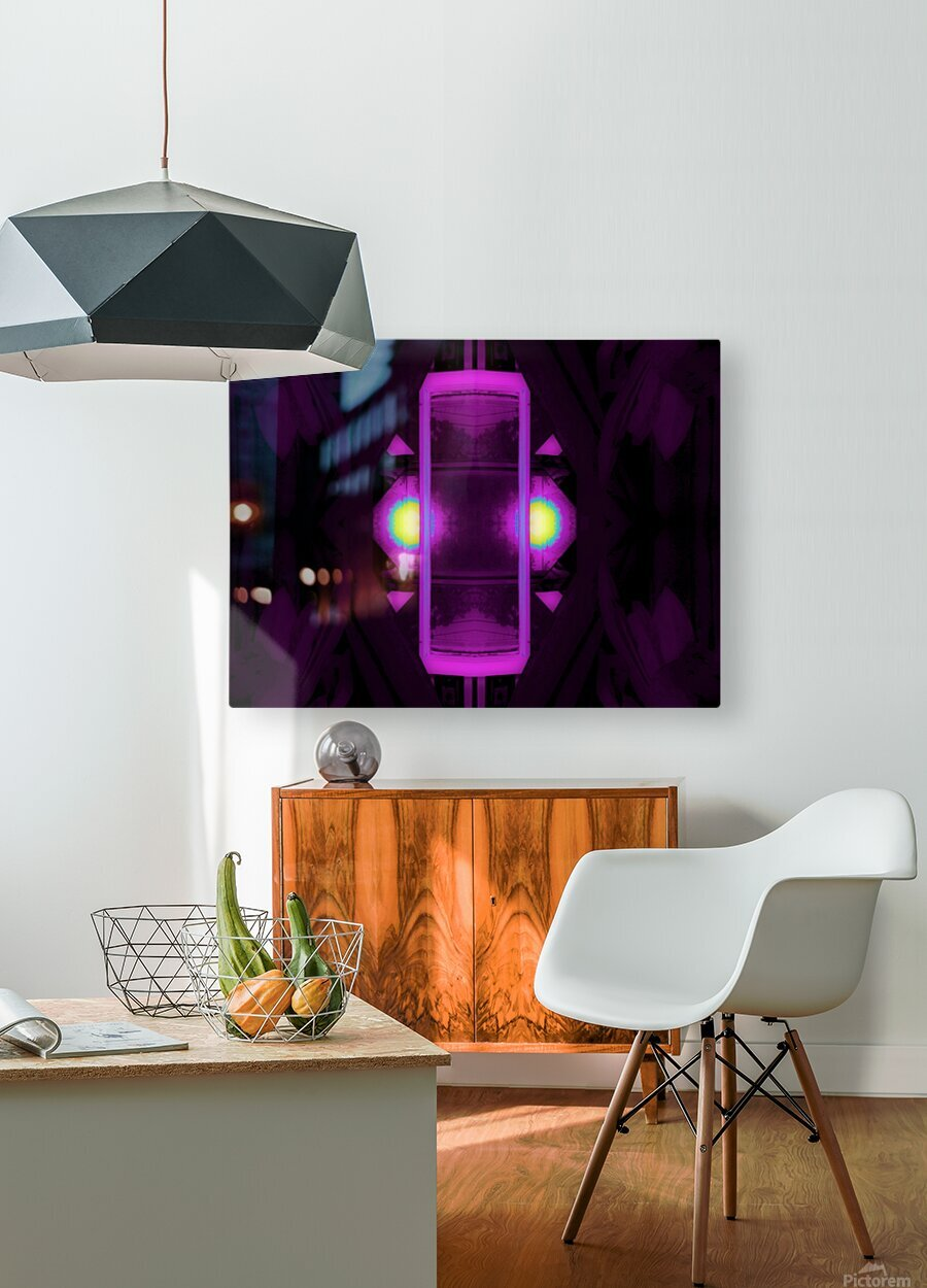 Portal  20   HD Metal print with Floating Frame on Back