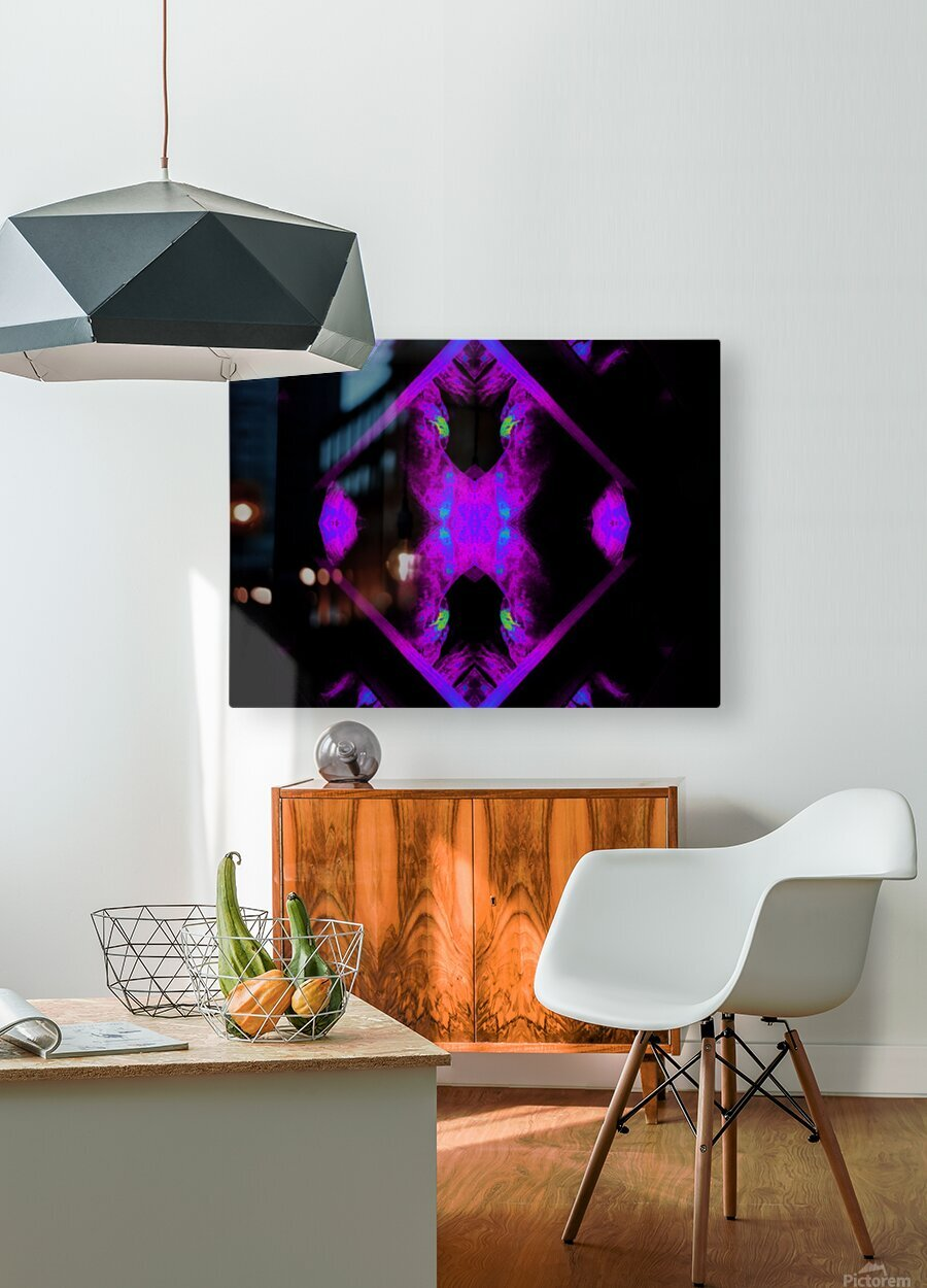 Portal  106   HD Metal print with Floating Frame on Back
