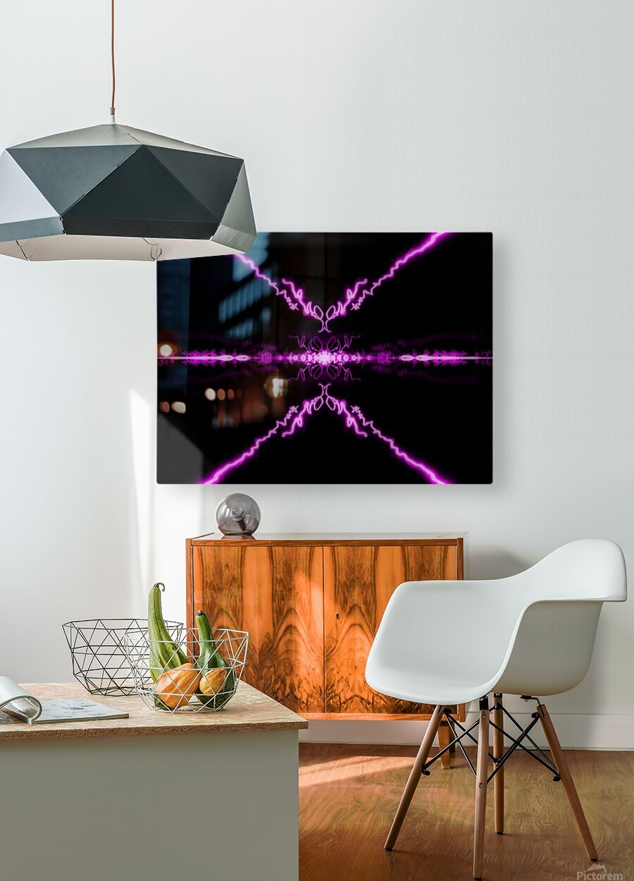 Portal  67   HD Metal print with Floating Frame on Back