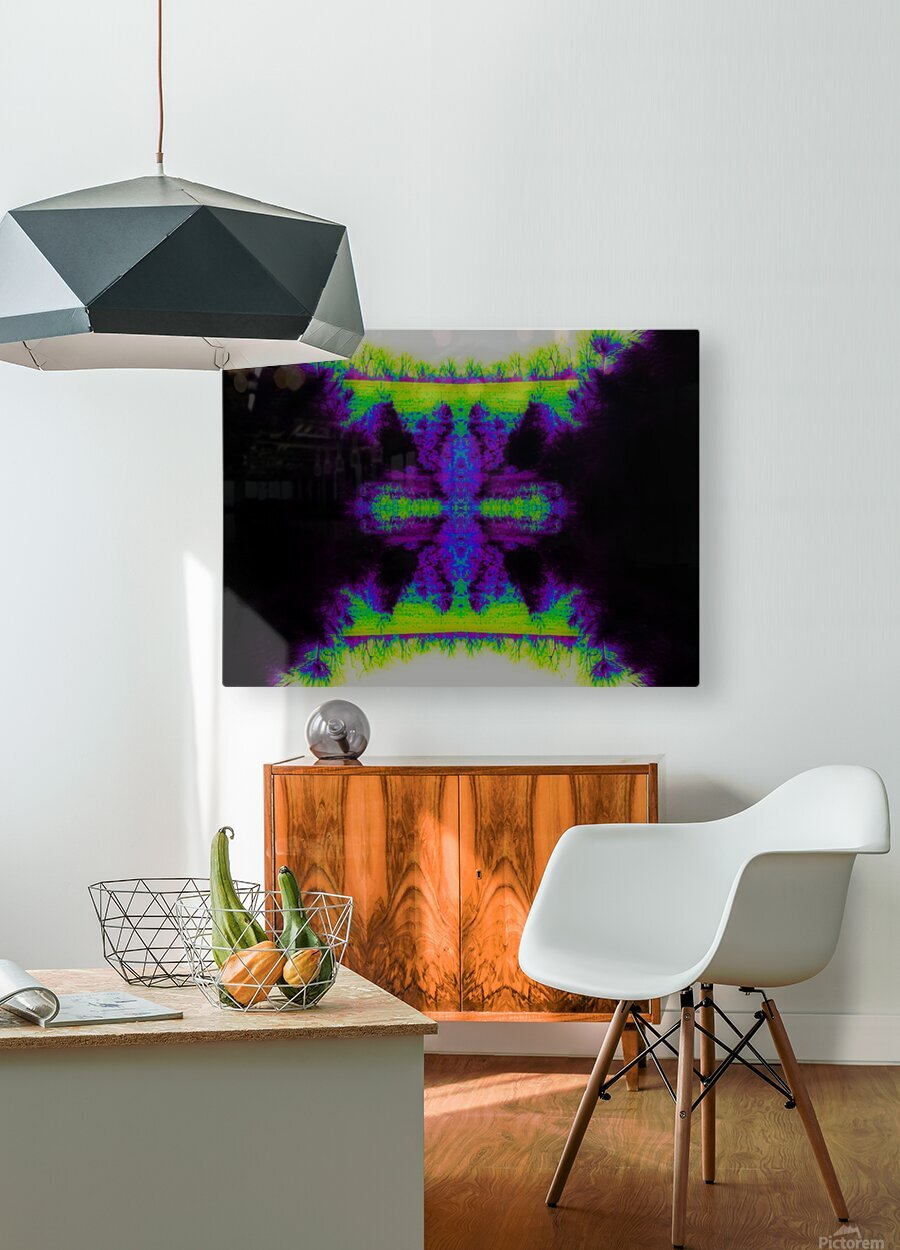 Portal  34   HD Metal print with Floating Frame on Back