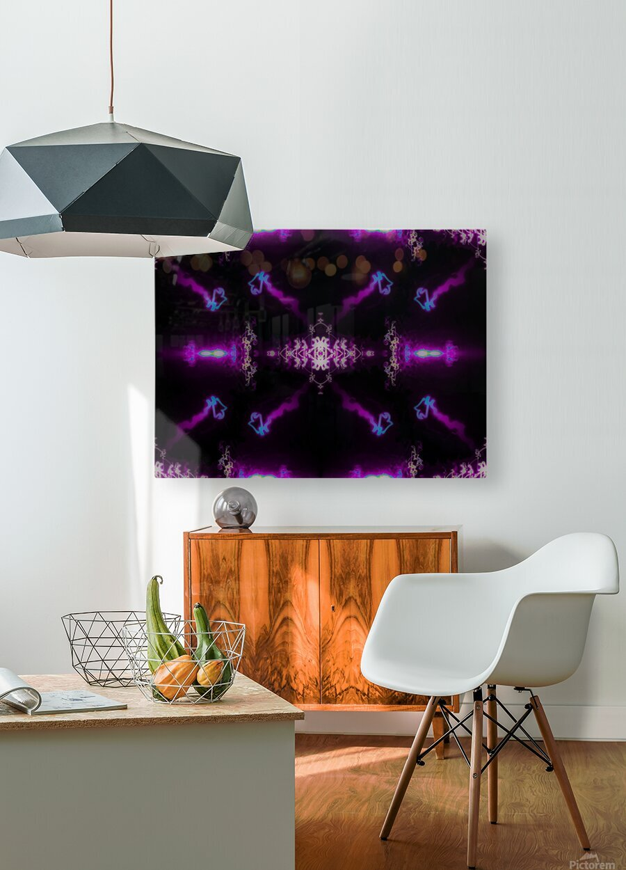 Portal  66   HD Metal print with Floating Frame on Back