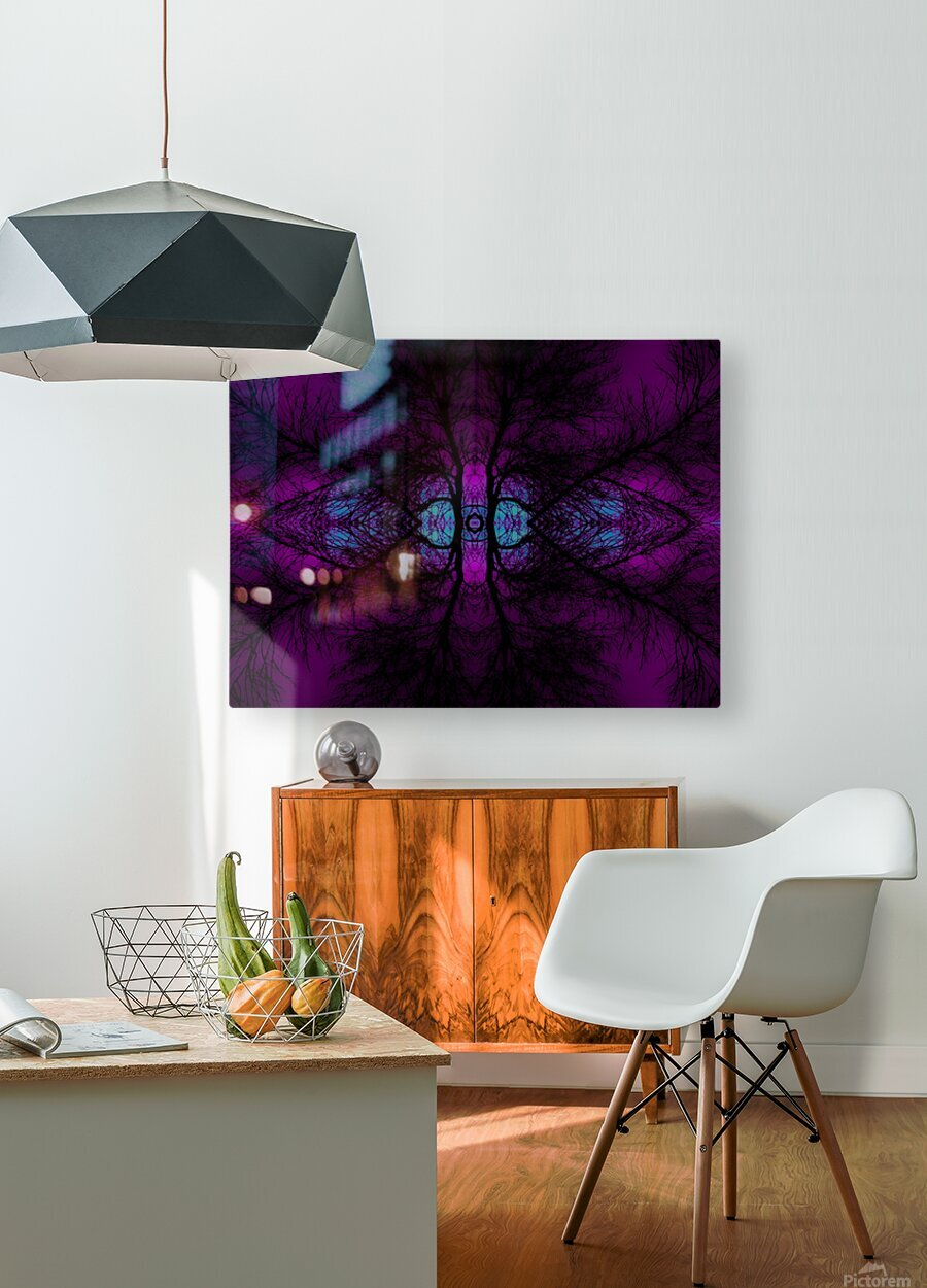 Portal  10   HD Metal print with Floating Frame on Back