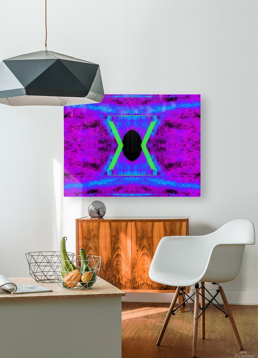 Portal  108   HD Metal print with Floating Frame on Back