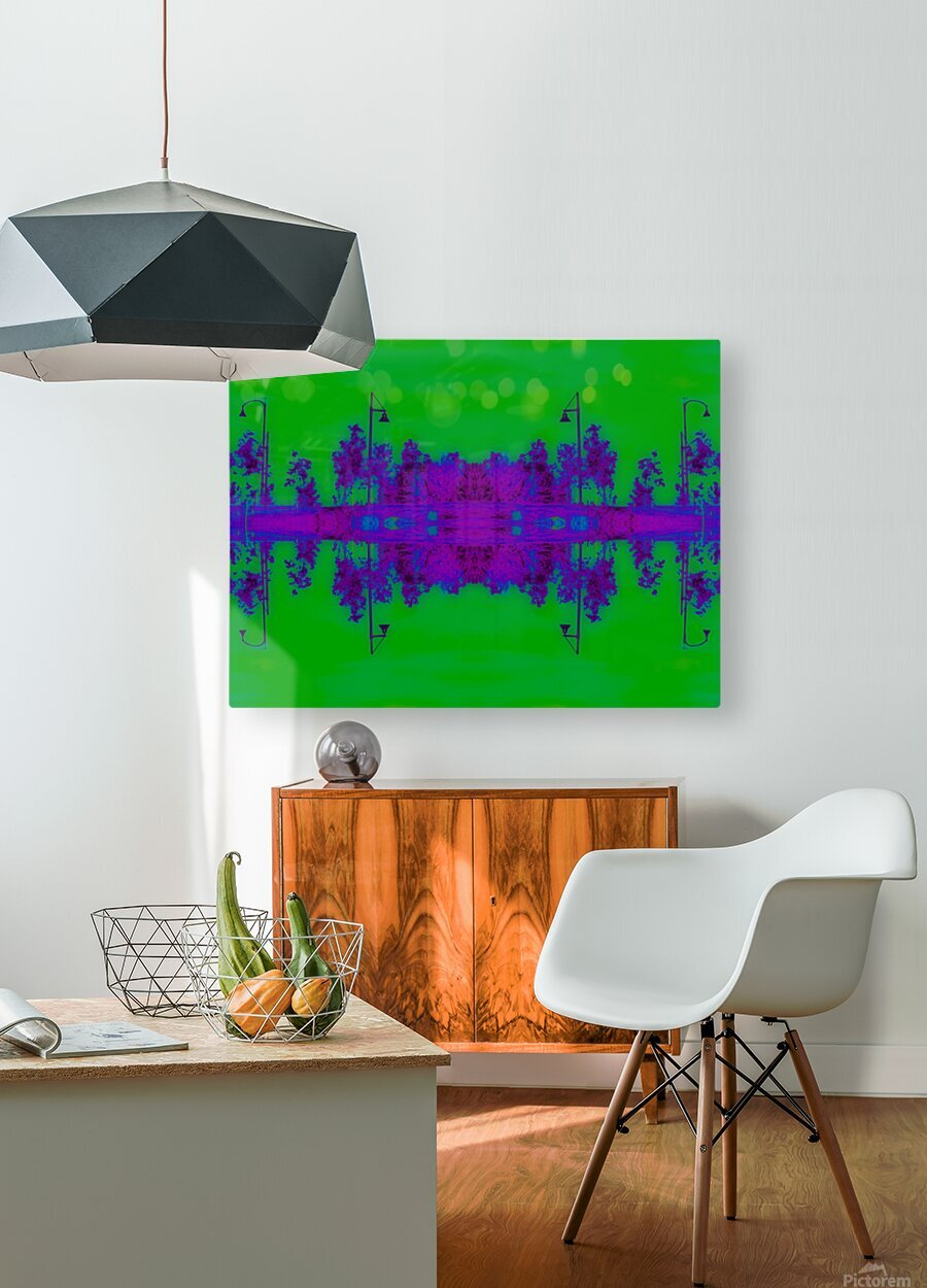 Portal  96   HD Metal print with Floating Frame on Back