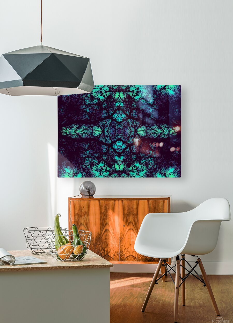 Portal  36   HD Metal print with Floating Frame on Back