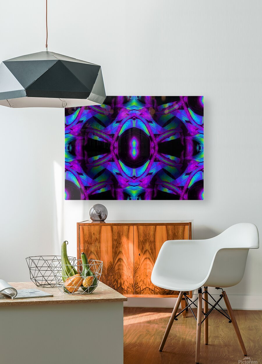 Portal  42   HD Metal print with Floating Frame on Back