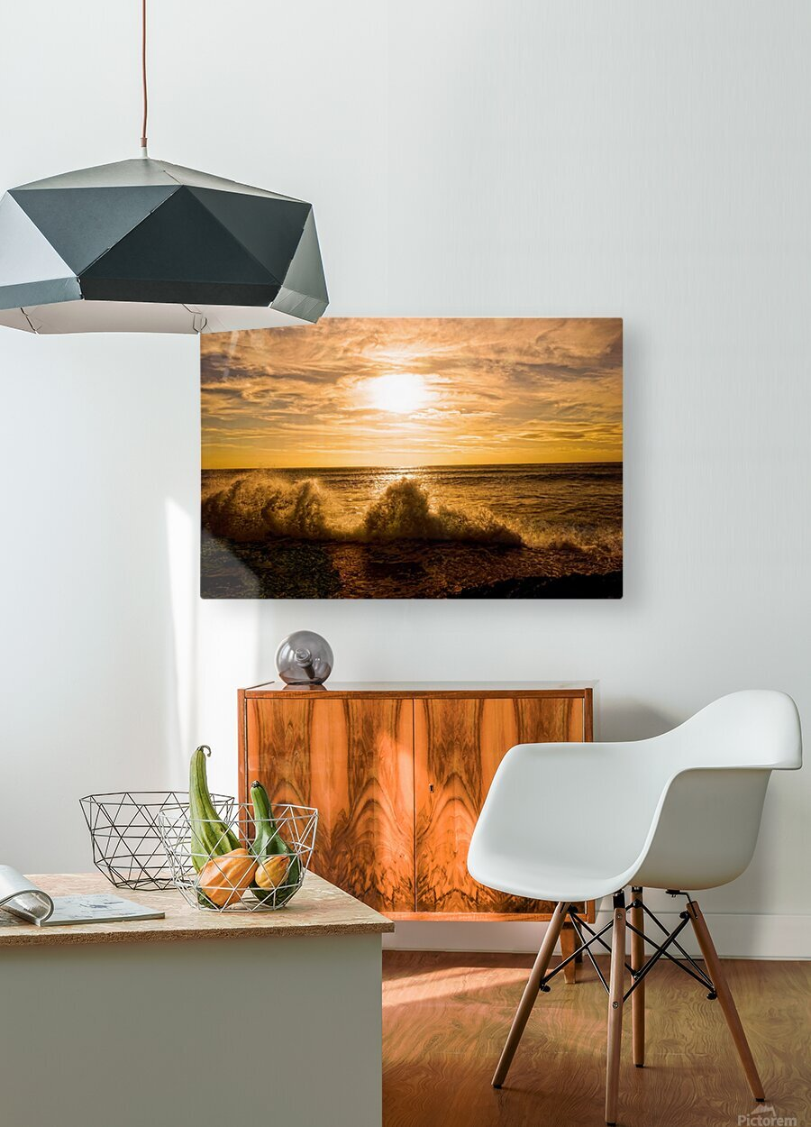 Whoosh   HD Metal print with Floating Frame on Back