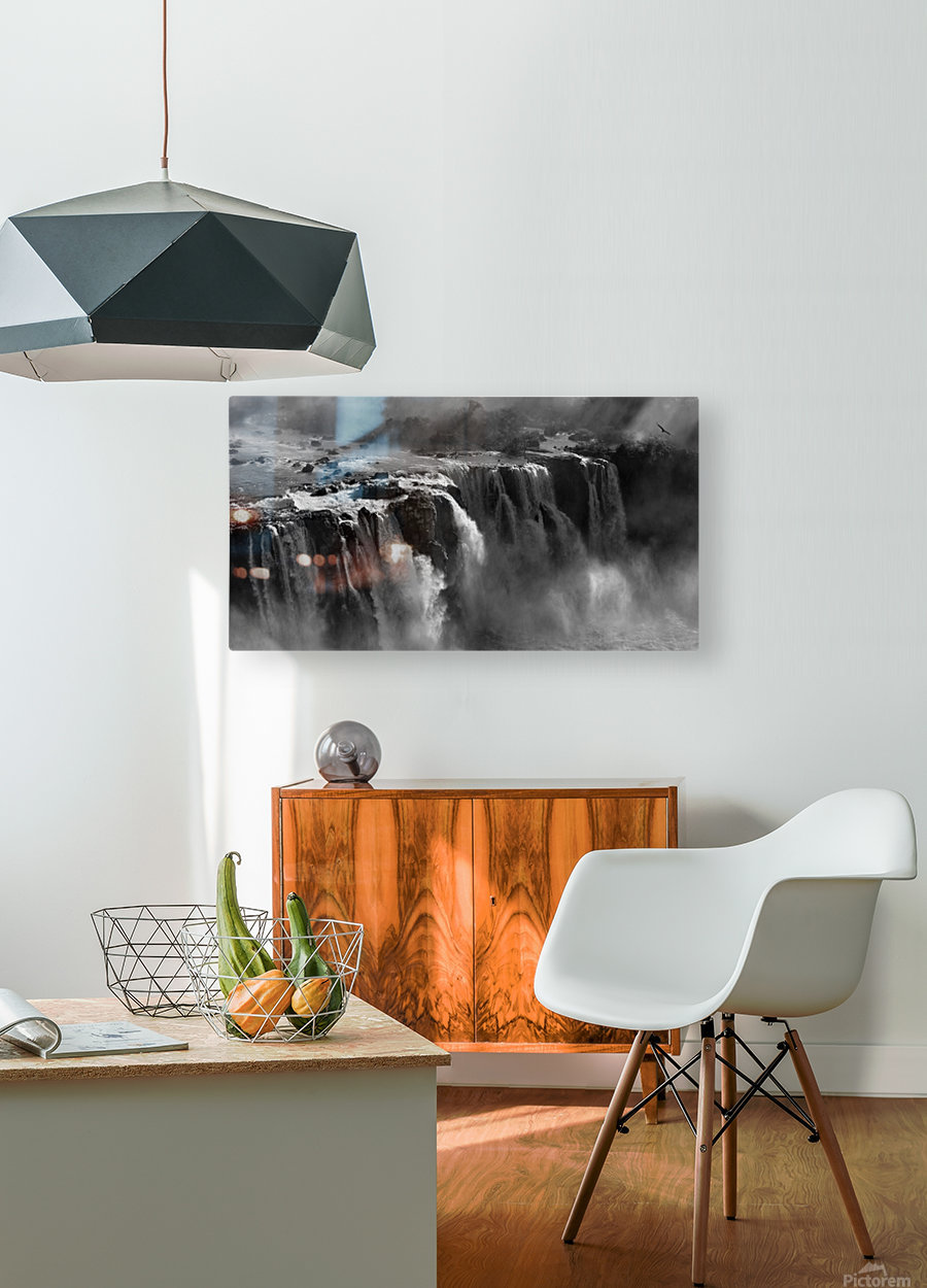 Demonstration of Power by Zan Zhang   HD Metal print with Floating Frame on Back