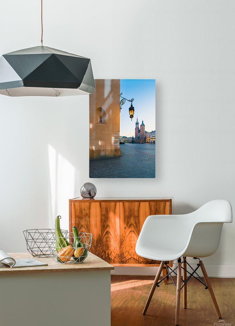 KRAKOW 02  HD Metal print with Floating Frame on Back