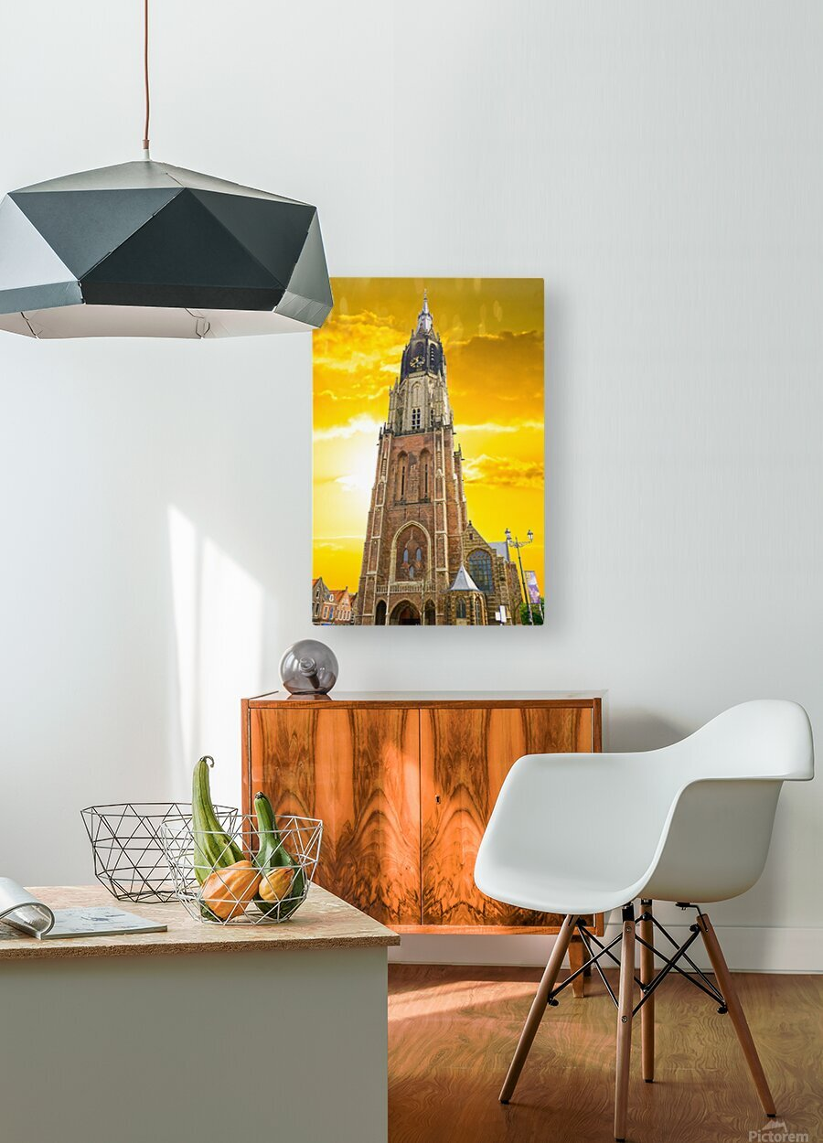 A Dream of the Netherlands 4 of 4  HD Metal print with Floating Frame on Back