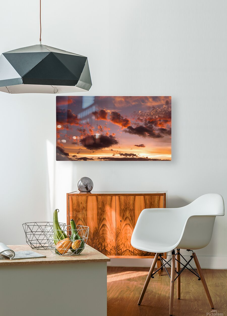 Color Study 2  HD Metal print with Floating Frame on Back