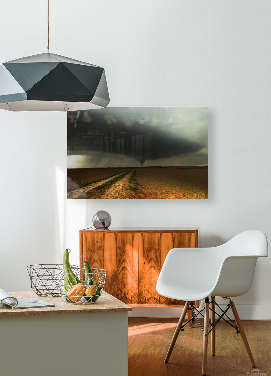 Kick-off Spring  HD Metal print with Floating Frame on Back