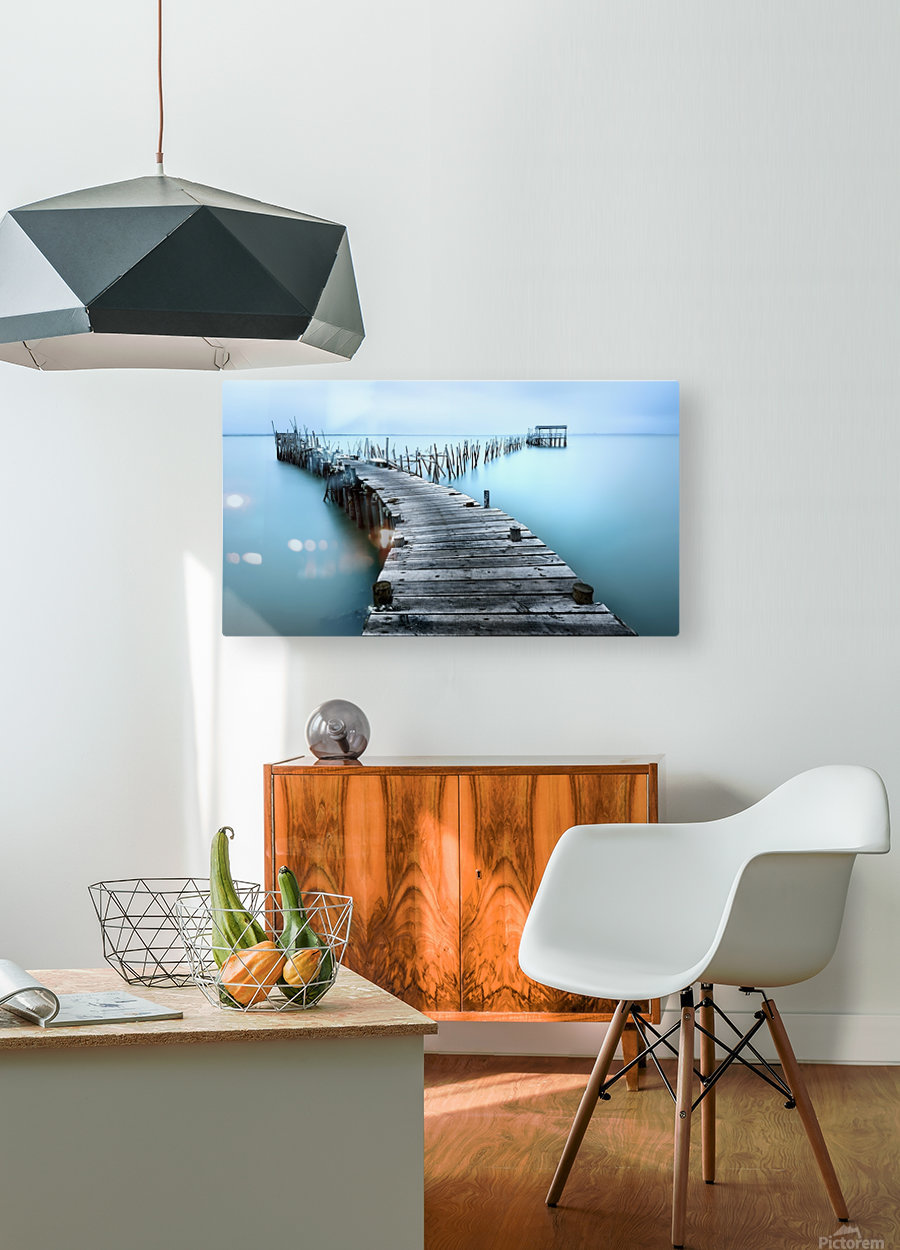 Carrasqueira II  HD Metal print with Floating Frame on Back